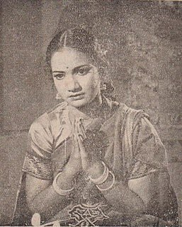 Raavu Balasaraswathi Indian actress