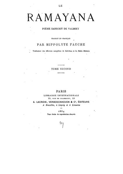 File:Ramayana trad Hippolyte Fauche vol2.djvu