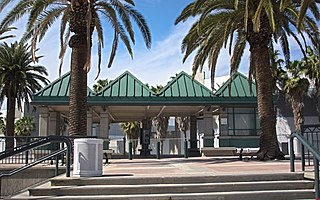 Rancho Cucamonga station Commuter rail station in California