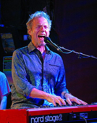Randall Bramblett - Randall Bramblett on keyboards at The Saint, Asbury Park, NJ, on September 14, 2013.