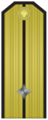 Rank insignia of младши лейтенант of the Bulgarian Navy.png