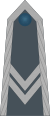 Rank insignia of starszy sierżant of the Air Force of Poland.svg