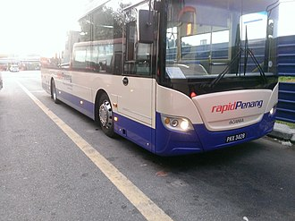 Rapid Bus - Rapid Penang Scania K250UB