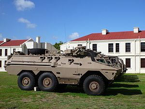 Ratel IFV - Ratel 20 at the Castle of Good Hope, Cape Town