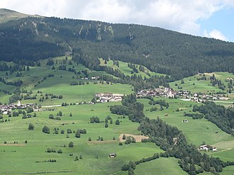 Ratschings - Ratschings, panorama from between Gasteig and Kalch