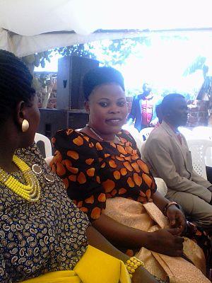 Gomesi - Ugandan women wearing the gomesi.