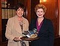 Receiving an award from Ducks Unlimited (8655827056).jpg