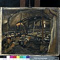 Reception of the Wounded at the 41st Casualty Clearing Station, Le Cateau, during the British Advance in October 1918 Art.IWMART3800.jpg