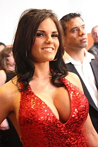 Red Dress on Red Carpet AVN Awards.jpg