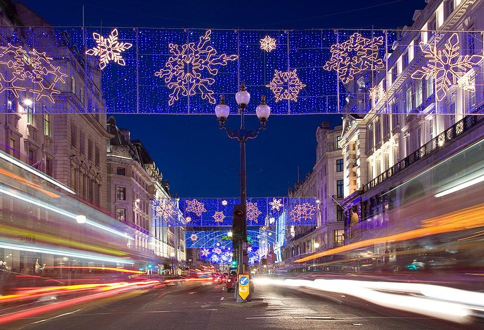 Regent Street Christmas Lights - Dec 2006