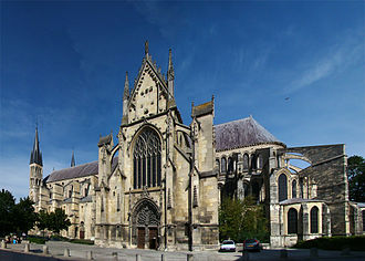 Abbey of Saint-Remi - Image: Reims S Remi 1 tango 7174