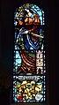 Reith bei Seefeld - Pfarrkirche hl Nikolaus - Fenster St Barbara.jpg