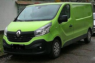 Renault Trafic - Image: Renault Trafic III (2017)