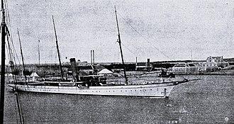 Venezuelan crisis of 1902–1903 - The Restaurador in Curaçao