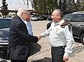 Reuven Rivlin, the Israeli president, visit to Hatzor IAF Base 5153.jpg