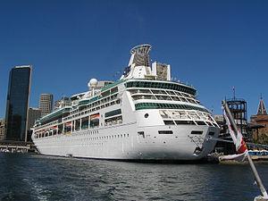 MS Rhapsody of the Seas - Image: Rhapsody of the Seas Portside stern quarter