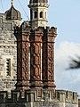 Rhinefield, fancy brickwork chimneys - geograph.org.uk - 1010633.jpg