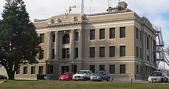 Richardson County, Nebraska - Image: Richardson County, Nebraska courthouse from NE