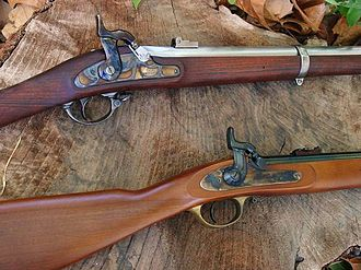 Springfield Model 1861 - Springfield and Enfield Actions