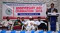 Rizwanur Rahman, secretary of MAEF, Govt of India speaking at AMU MC.jpg