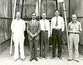 Robert Goddard With Kris, Guggenheim, Lindbergh and Ljungquist - GPN-2002-000133.jpg