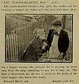 Robert Harron and Gertrude Norman in The Tender Hearted Boy (1913).jpg