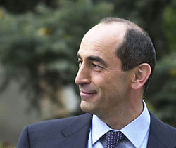 Robert Kocharyan, second President of Armenia, 2006 (02)
