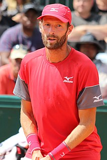Stéphane Robert French tennis player