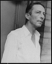 Robinson Jeffers, photographed by Carl Van Vechten, July 9, 1937