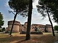 Rocca Sforzesca Imola, entrata laterale.jpg