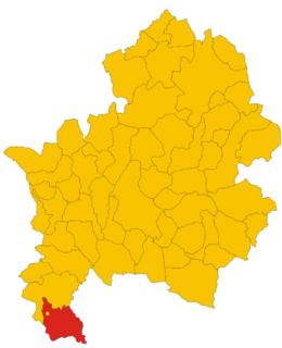 Roccapipirozzi Frazione in Molise, Italy