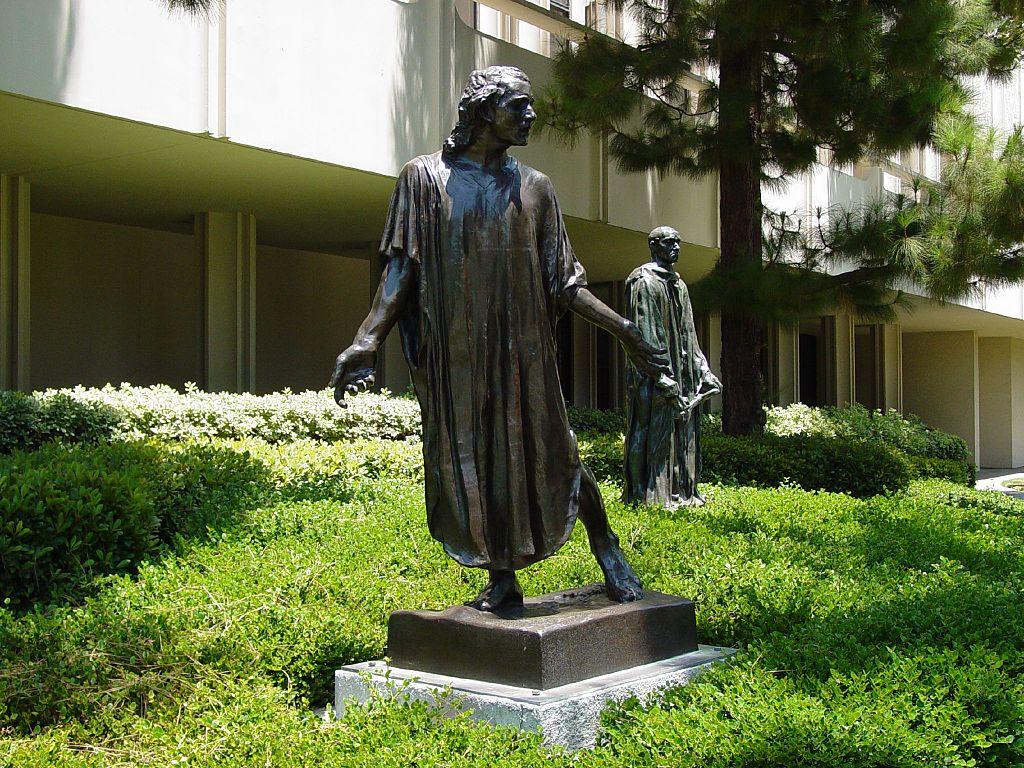 Rodin sculpture garden (LACMA)