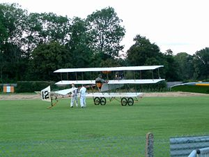 Roe IV Triplane - The Shuttleworth replica
