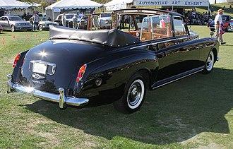 Landaulet (car) - 1966 Rolls-Royce Phantom V landaulet