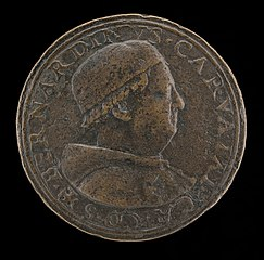 Bernardino Carvajal, died 1522, Cardinal of Santa Croce 1493, deposed 1511, restored 1513 [obverse]
