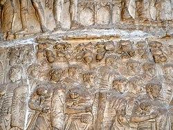 Trajan sütunundaki asker kabartmaları