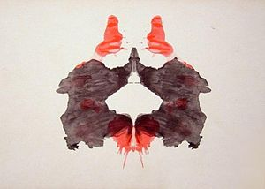 the second blot of the Rorschach inkblot test