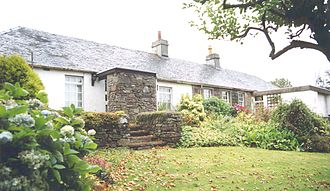 A. J. Cronin - Rosebank Cottage, Cronin's birthplace