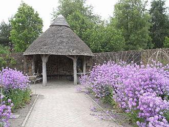 RHS Garden Rosemoor - A gazebo in the garden