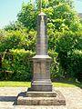 Rosoy (60), monument aux morts, rue de l'Église.jpg