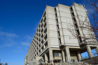 Keele Campus (York University) - The southernmost Ross Building Tower, also known as South Ross