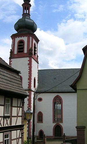 Rothenfels - Image: Rothenfels Kirche