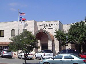 Round Rock Public Library - Image: Round Rock Public Library Mainstreet view