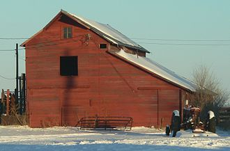 National Register of Historic Places listings in Holt County, Nebraska - Image: Rouse Bros. ranch (Holt County, Nebraska) (1)