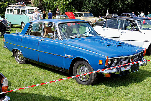 Rover 3500S federal version, front right