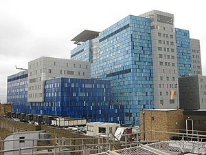 Whitechapel - Image: Royal London Hospital redevelopment