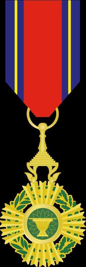 Royal Order of Sahametrei - Image: Royal Order of Sahametrei, Knight Class Medal