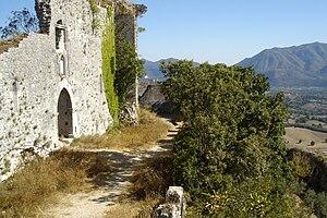 Alvito, Lazio - Remains of the Alvito Castle.