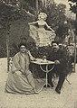 Ruggero Leoncavallo mit seiner Gattin 1912.jpg