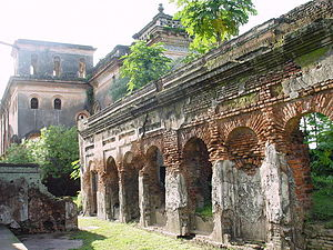 Rajshahi District - Image: Ruins at puthia